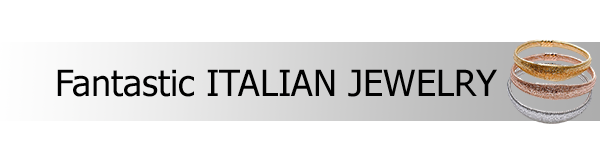 Italian jewelry wholesale: made in Italy silver jewels, gold jewels, costume jewellery